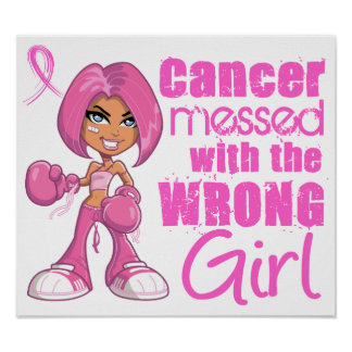 Breast Cancer Combat Girl 1 Poster