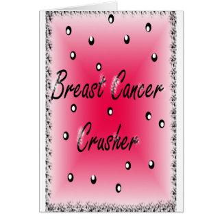 Breast Cancer Crusher Card