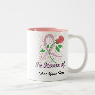 Breast Cancer Customizable In Honour Of Mug