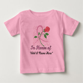 Breast Cancer Customizable Infant T-shirt