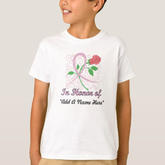 Breast Cancer Customizable Kid's T-shirt