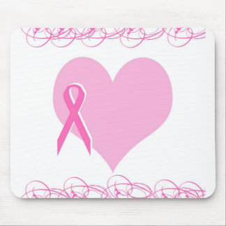 Breast cancer design mouse pad