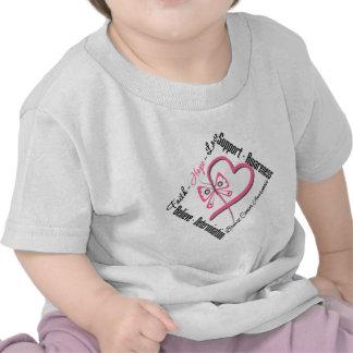 Breast Cancer Faith Hope Love T Shirts