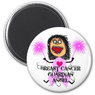 Breast Cancer Guardian Angel Magnet