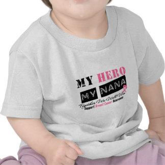 Breast Cancer HERO My Nana Tshirts