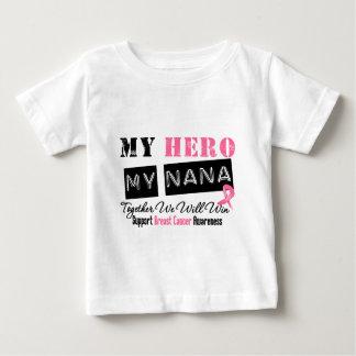 Breast Cancer HERO My Nana Tee Shirt