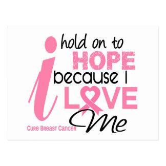 Breast Cancer Hope for ME Postcard