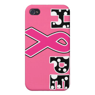 """Breast Cancer """"Hope"""" iPhone 4 Case"""