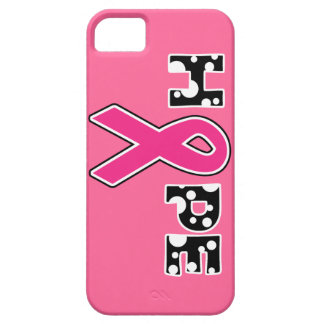 """Breast Cancer """"Hope"""" iPhone Case"""