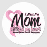 Breast Cancer I Miss My Mom Sticker