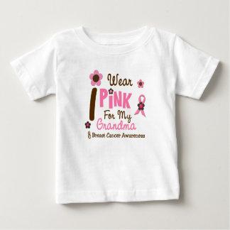 Breast Cancer I Wear Pink For My Grandma 12 Tshirt