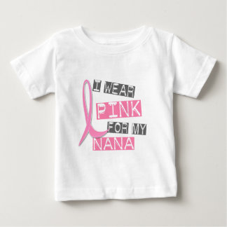 Breast Cancer I Wear Pink For My Nana 37 Tee Shirt