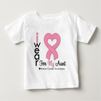 Breast Cancer I Wear Pink Ribbon For My Aunt Tshirts