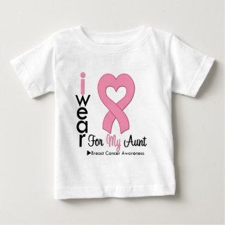 Breast Cancer I Wear Pink Ribbon For My Aunt Tshirts