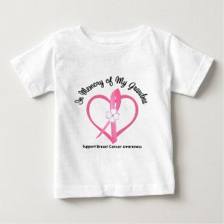 Breast Cancer In Memory of My Grandma Baby T-Shirt