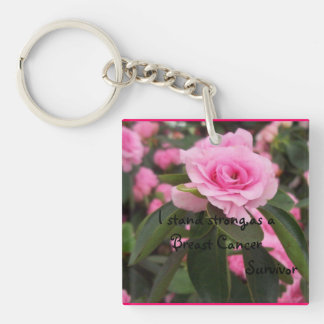 Breast Cancer keychain