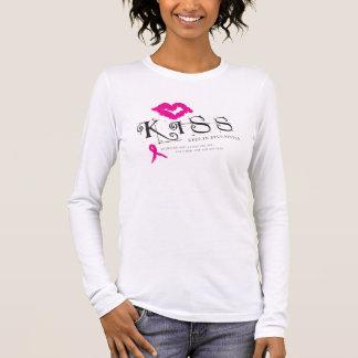 Breast Cancer KISS Long Sleeve T-Shirt