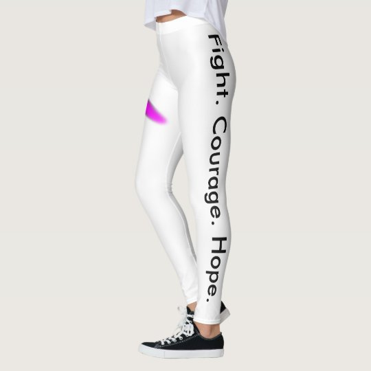 Breast cancer leggings
