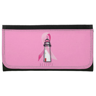 Breast Cancer: Lighthouse of Hope Wallets For Women