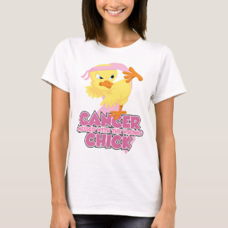 Breast Cancer Messed With The Wrong Chick T-Shirt