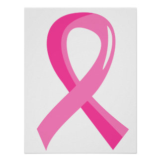 Breast Cancer Pink Ribbon 3 Poster