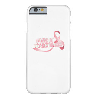 Breast Cancer Pink Ribbon Awareness Survivor Barely There iPhone 6 Case