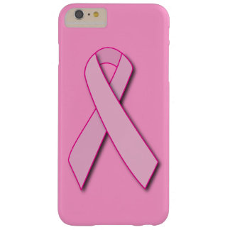 Breast Cancer Pink Ribbon Barely There iPhone 6 Plus Case