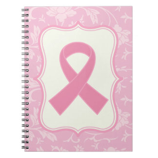Breast Cancer Pink Ribbon blessings Gift Notebooks
