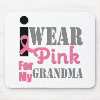 BREAST CANCER PINK RIBBON Grandma Mouse Pad