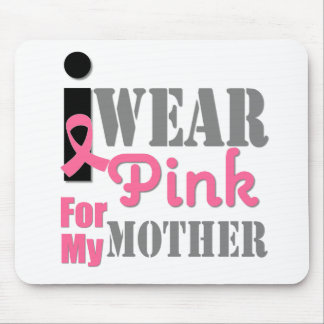 BREAST CANCER PINK RIBBON Mother Mouse Pad