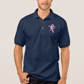 Breast Cancer Ribbon of Hope Polo Shirt