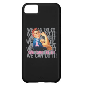 Breast Cancer Rosie WE CAN DO IT iPhone 5C Case