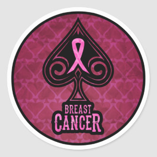 Breast Cancer - Sticker - Spades Edition