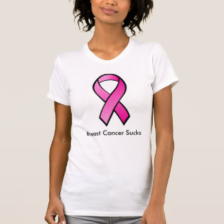 Breast Cancer Sucks T-shirt
