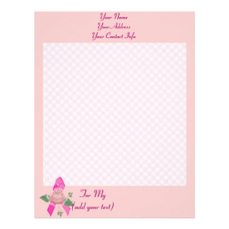 Breast Cancer Support Letterhead