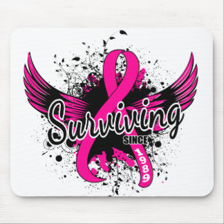 Breast Cancer Surviving Since 1989 Mouse Pads