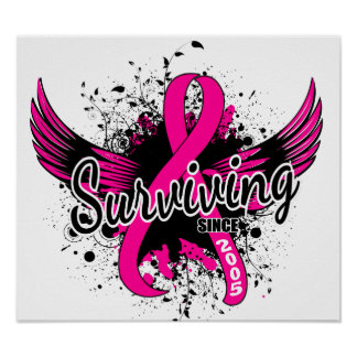 Breast Cancer Surviving Since 2005 Posters
