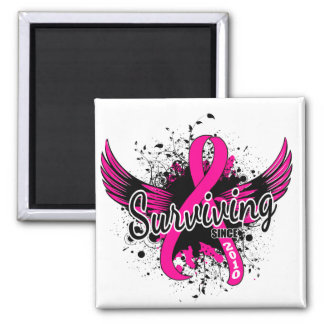 Breast Cancer Surviving Since 2010 Magnet