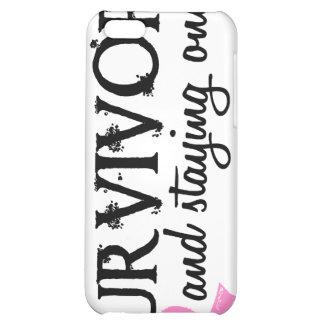 Breast Cancer Survivor 18 iPhone 5C Case