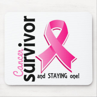 Breast Cancer Survivor 19 Mouse Pad