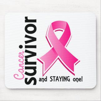 Breast Cancer Survivor 19 Mouse Pad