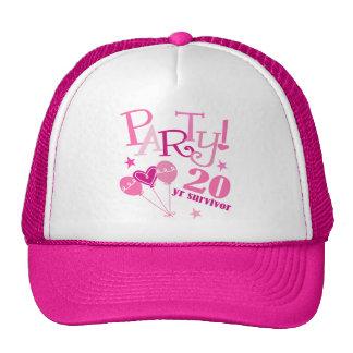 Breast Cancer Survivor 20 Year Trucker Hat
