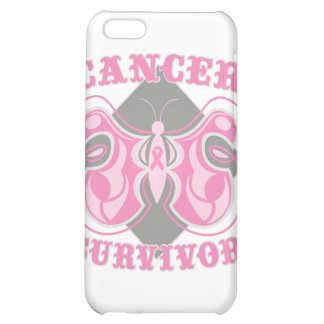 Breast Cancer Survivor Butterfly iPhone 5C Covers