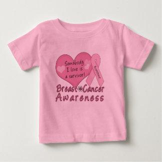 Breast Cancer Survivor Infant T-shirt