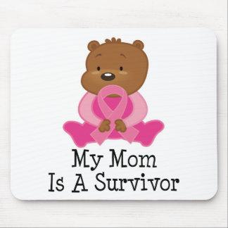 Breast Cancer Survivor Mom Mouse Pad