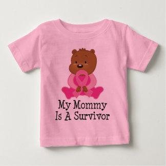 Breast Cancer Survivor Mommy Baby T-Shirt