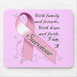 Breast Cancer Survivor Mouse Pad