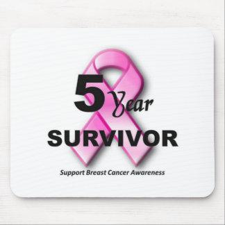 Breast Cancer survivor Mousepads
