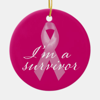 Breast Cancer Survivor Ornament