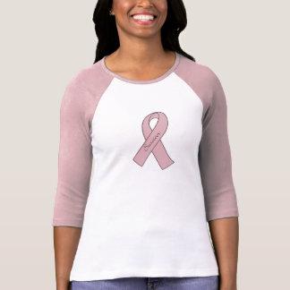 Breast Cancer Survivor Pink-Sleeved Shirt